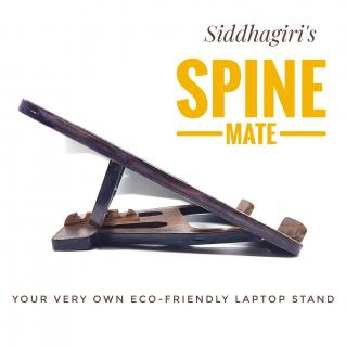Spine Mate ( Eco-friendly Laptop Stand)